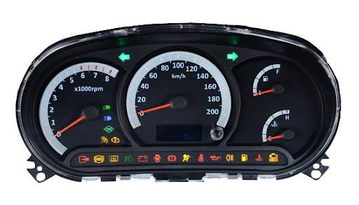 چراغ اخطار سیستم ترمز ABS و ترمز دستی